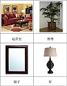 Chinese Living Room Nomenclature Cards