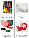 French Nomenclature Cards - Art Supplies