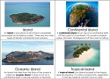 Types of Islands & Reefs