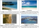 Types of Coastlines Cards