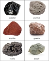 Types of Rocks Sorting Cards
