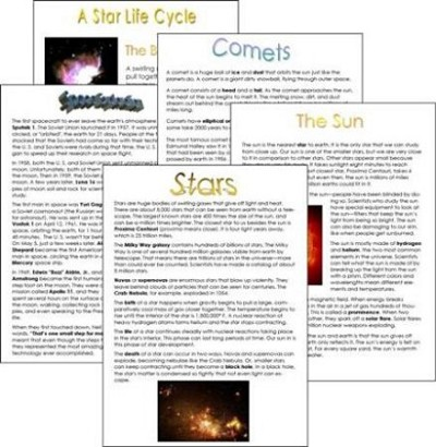 All About Astronomy Mini-Posters