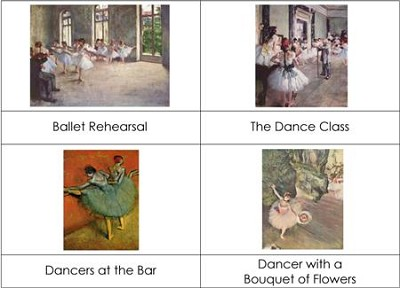 Famous Artists - Degas