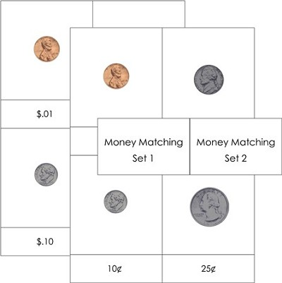 Money Matching Cards