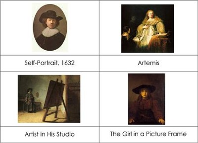 Famous Artists - Rembrandt
