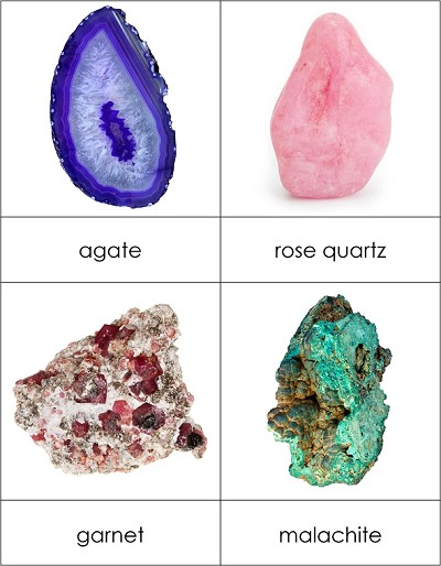 Types of Gemstones and Minerals